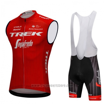 2018 Wind Vest Trek Segafredo Red