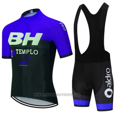 2020 Cycling Jersey BH Templo Fuchsia White Black Short Sleeve and Bib Short