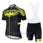 2020 Cycling Jersey Northwave Yellow Black Short Sleeve and Bib Short