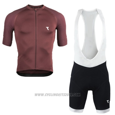 2020 Cycling Jersey Ryzon Red Short Sleeve and Bib Short