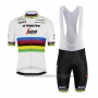 2020 Cycling Jersey UCI World Champion Trek Segafredo Short Sleeve and Bib Short