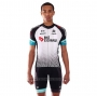 2021 Cycling Jersey Bike Exchange White Short Sleeve and Bib Short(1)
