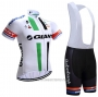 2021 Cycling Jersey Giant Alpecin White Short Sleeve and Bib Short