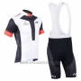 2013 Cycling Jersey Nalini Black and White Short Sleeve and Salopette