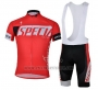 2013 Cycling Jersey Specialized Red and Black Short Sleeve and Bib Short