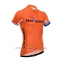 2014 Cycling Jersey Fox Cyclingbox Orange Short Sleeve and Bib Short