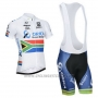 2014 Cycling Jersey Orica GreenEDGE Campione South Africa Short Sleeve and Bib Short