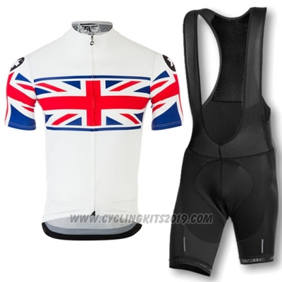 2016 Cycling Jersey Assos Red and White Short Sleeve and Bib Short