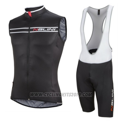 2016 Wind Vest Nalini Black and White