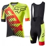 2017 Cycling Jersey Fox Le Savant Yellow Short Sleeve and Bib Short