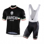 2021 Cycling Jersey Bianchi Sky Blue Short Sleeve and Bib Short