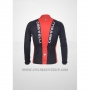 2011 Cycling Jersey Castelli Black and Red Long Sleeve and Bib Tight