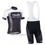 2013 Cycling Jersey Nalini Black and Gray Short Sleeve and Salopette