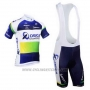 2013 Cycling Jersey Orica GreenEDGE Blue Short Sleeve and Bib Short