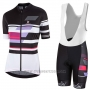 2017 Cycling Jersey Women Nalini Dolomiti Black Short Sleeve and Bib Short