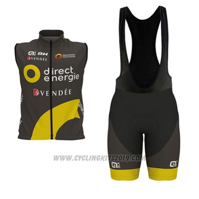 2017 Wind Vest Direct Energie Black and Yellow