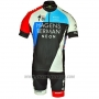 2018 Cycling Jersey Axeon Hagens Berman Blue Black Short Sleeve and Bib Short