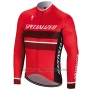 2018 Cycling Jersey Specialized Red Long Sleeve and Bib Tight