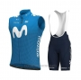 2021 Wind Vest Movistar Blue
