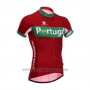 2014 Cycling Jersey Fox Cyclingbox Red and Green Short Sleeve and Bib Short