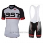 2016 Cycling Jersey Castelli White Short Sleeve and Bib Short