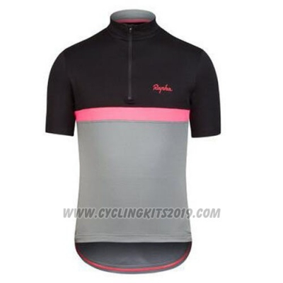 2016 Cycling Jersey Rapha Black and Red Short Sleeve and Bib Short