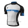 2016 Cycling Jersey Specialized White and Blue Short Sleeve and Bib Short