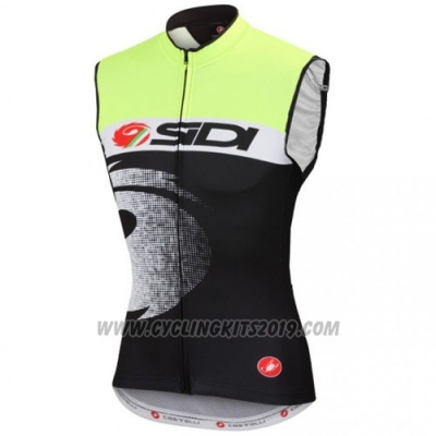 2016 Wind Vest SIDI Black and Green