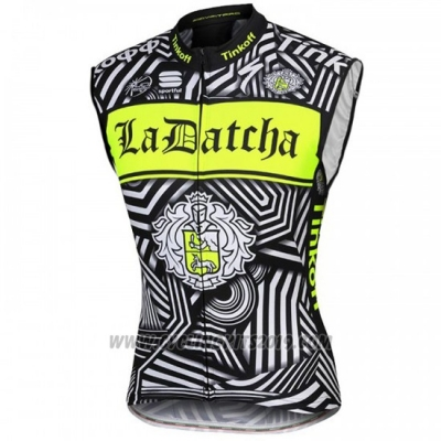 2016 Wind Vest Tinkoff Green and Black