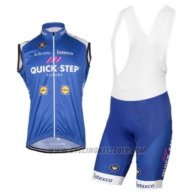 2017 Wind Vest Quick Step Floors Purple