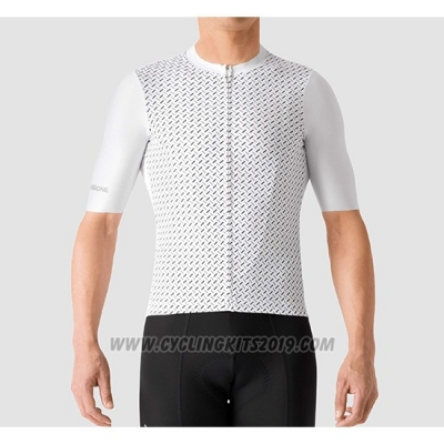 2019 Cycling Jersey La Passione White Short Sleeve and Bib Short