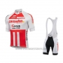 2019 Cycling Jersey Sptgrvo Red White Short Sleeve and Bib Short