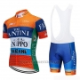 2019 Cycling Jersey Vini Fantini Orange Short Sleeve and Bib Short