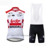2019 Wind Vest Lotto Soudal White Red
