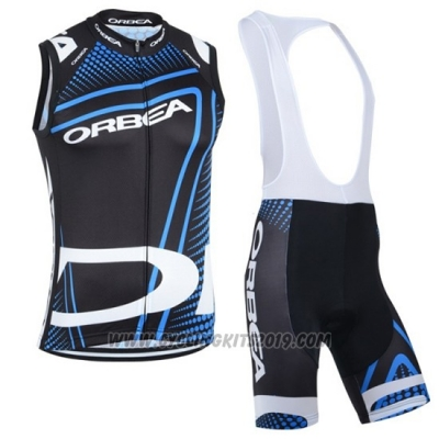 2019 Wind Vest Orbea Black Blue White