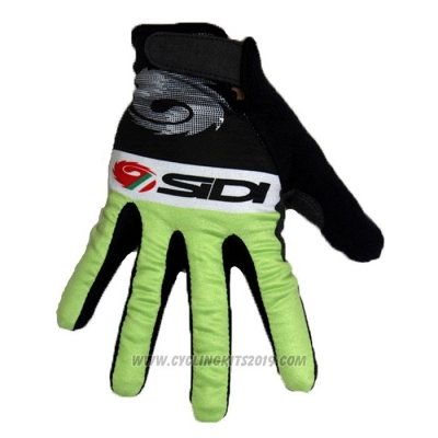 2020 SIDI Full Finger Gloves Black Green