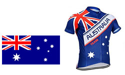 New Australia Cycling Kits 2018