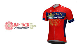 New Bahrain Merida Cycling Kits 2018