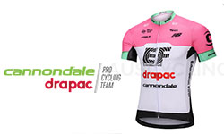 New Cannondale Drapac Cycling Kits 2018