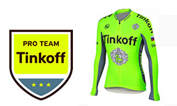 New Tinkoff Cycling Kits 2018