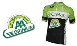 New Crelan AA Cycling Kits 2018
